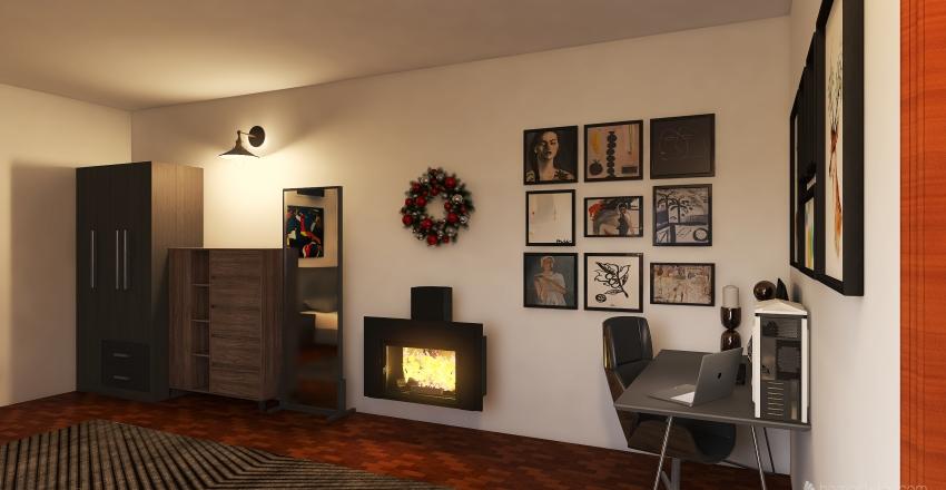 patrick's bedroom Interior Design Render