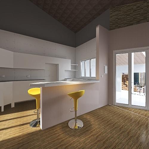 telhado 2 Interior Design Render