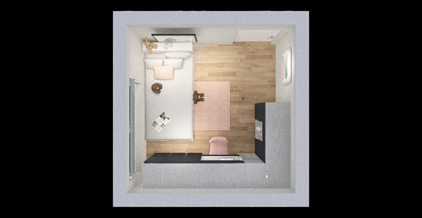 My New Bedroom Interior Design Render