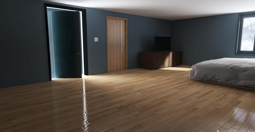 Kenny Bedroom X Interior Design Render