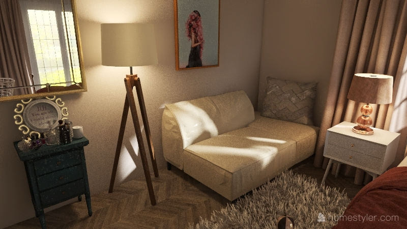 Family house1 Interior Design Render