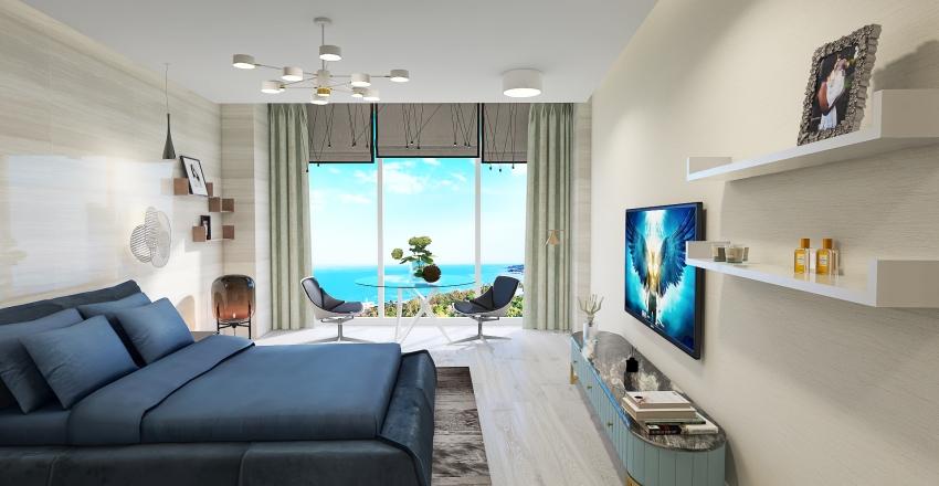 The apartaments by the sea Interior Design Render