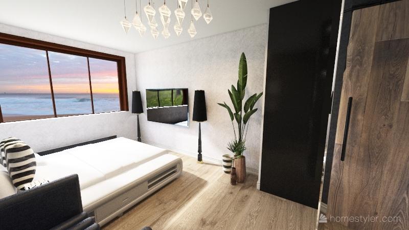 Copy of Моя квартира (спальня) Interior Design Render