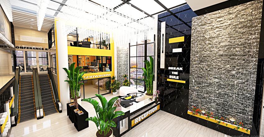 #HSDA2020Commercial - BREAK THE RULE Interior Design Render