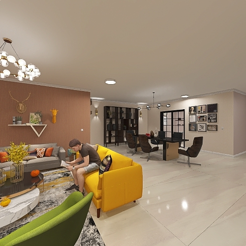 project 4 Interior Design Render