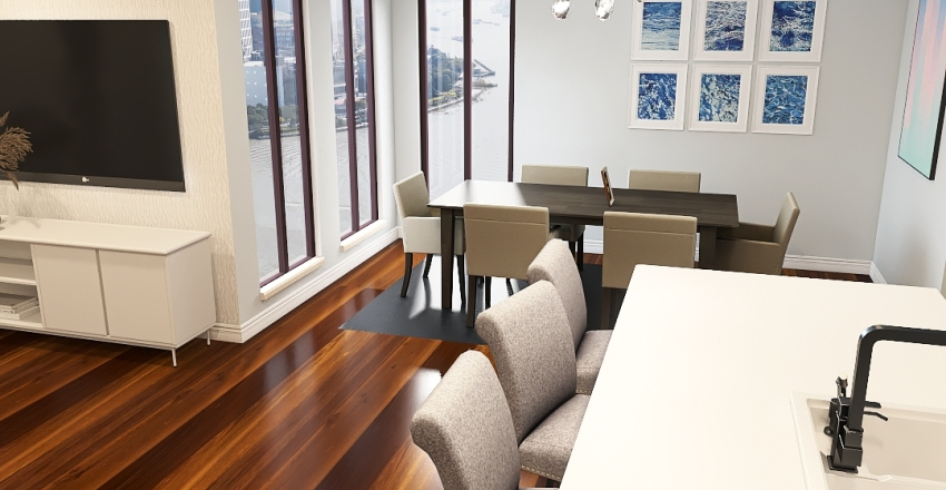 JJM Condo Design Interior Design Render