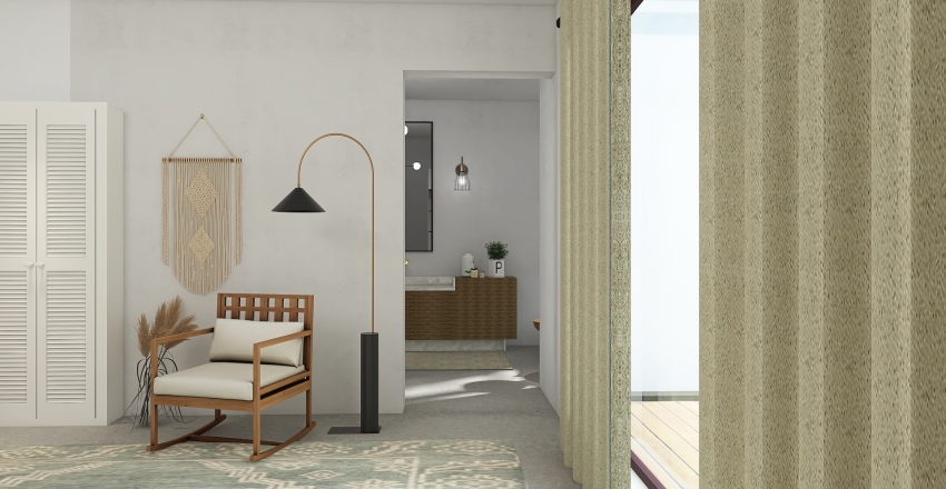 The Hollands Mountain House Interior Design Render