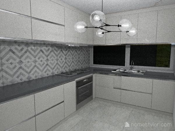 casa ecologica Interior Design Render