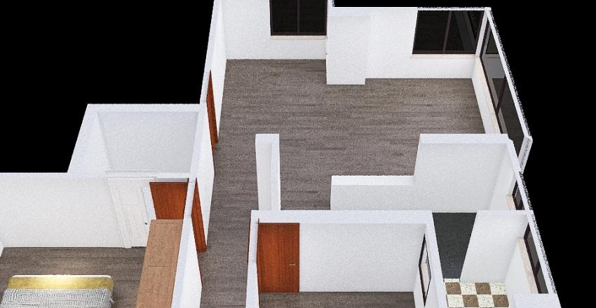 St Coloma Interior Design Render