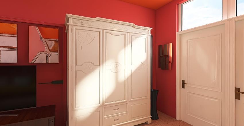 Monolocale impianto elettrico Interior Design Render