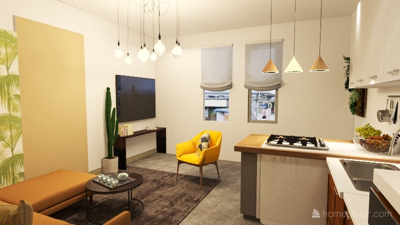 Cosenza Interior Design Render