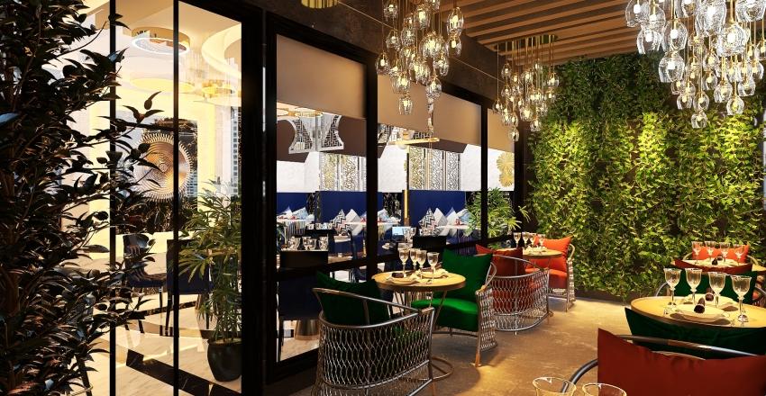 EL COMIDOR-INTERNATIONAL CUISINE RESTAURANT Interior Design Render