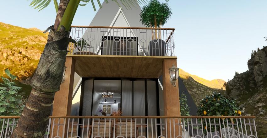triangle Interior Design Render