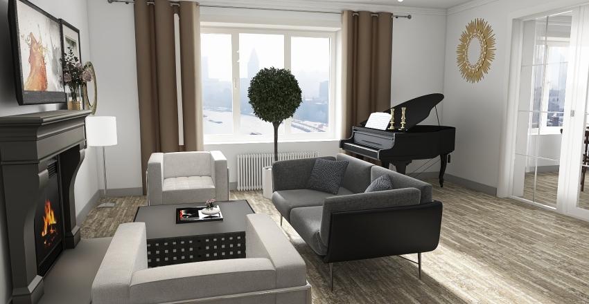 Квартира Скидел Interior Design Render