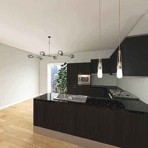 лена Interior Design Render