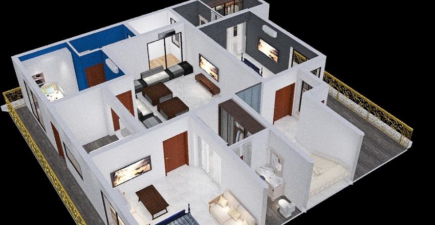 156 First Floor Interior Design Render