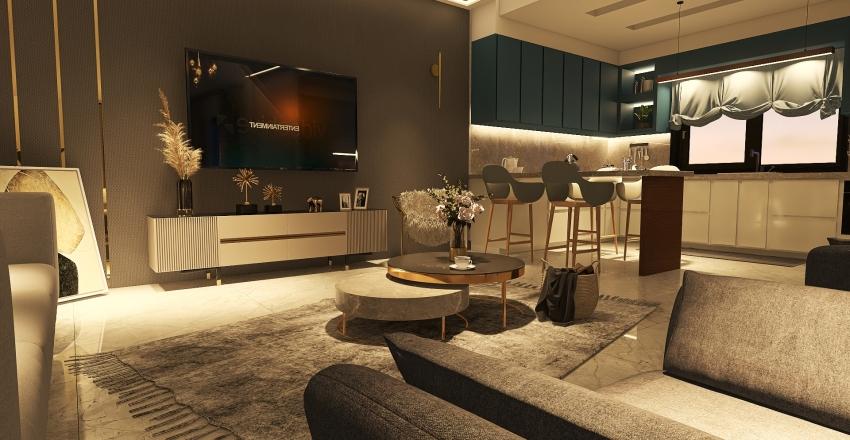#HSDA2020Residential - Classy Villa Interior Design Render