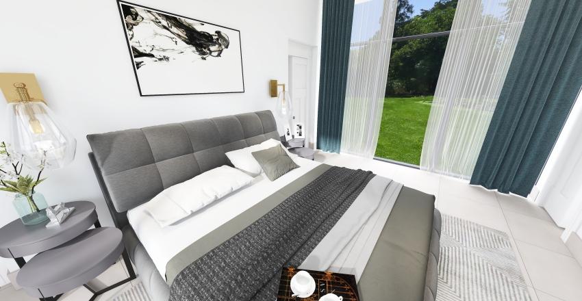 Casa López Rebagliatte V2 Interior Design Render