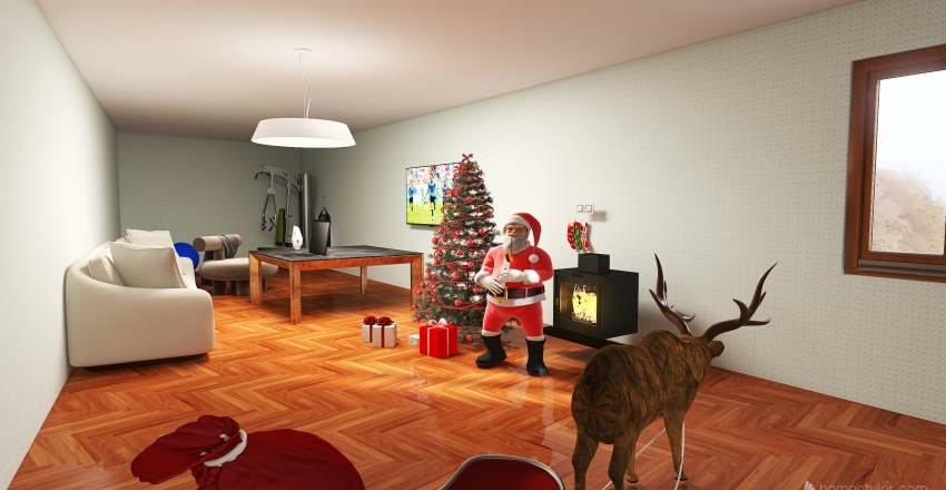Awesome House Interior Design Render