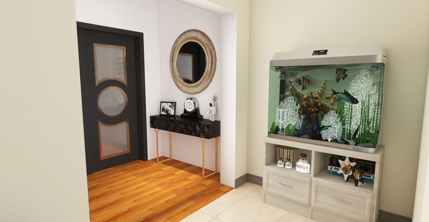 primera planta Interior Design Render