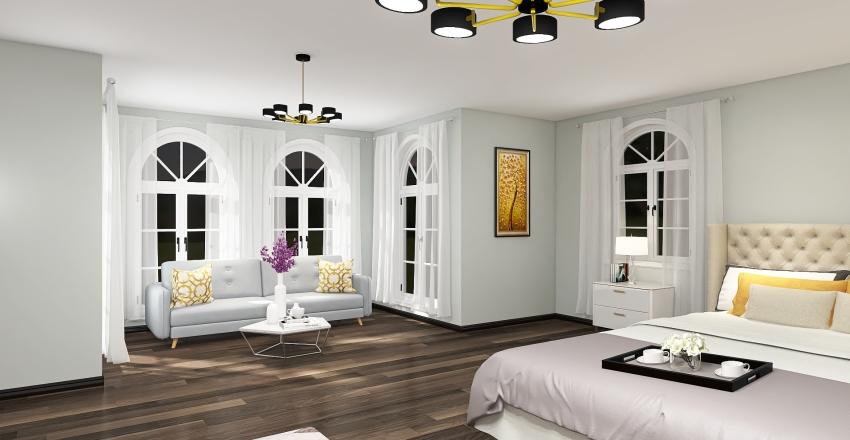 bedroom for young women   Interior Design Render