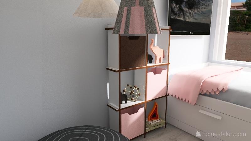 the Henderson home Interior Design Render