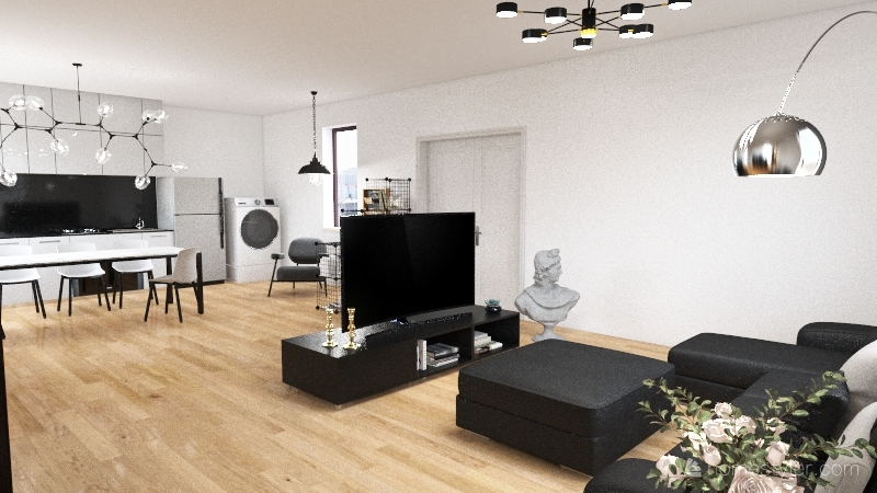 Loft1 Interior Design Render