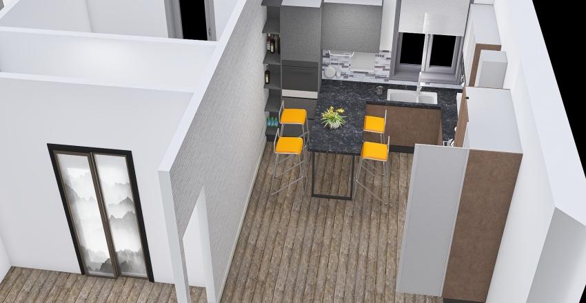 arredamento esercizio Interior Design Render