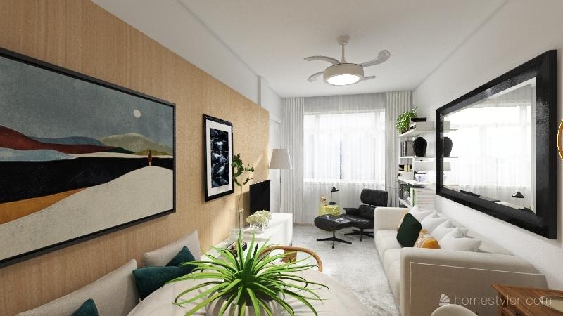 APTO - Painel - opcao Interior Design Render