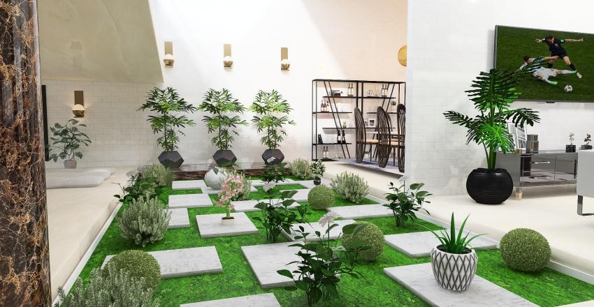 One of a kind Interior Design Render