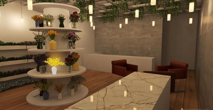 SHOPHOUSE ULET Interior Design Render