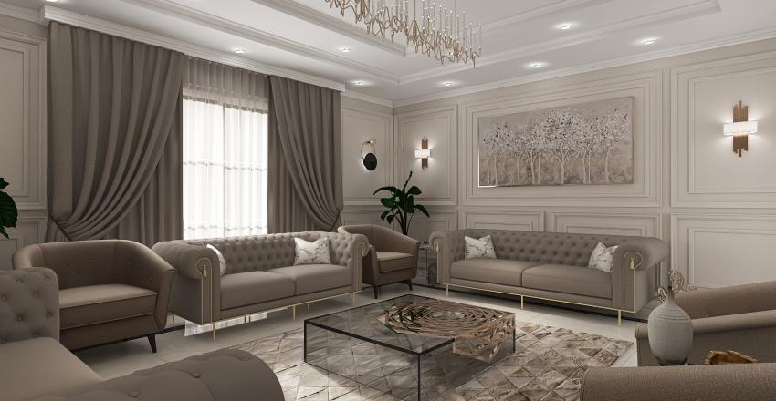 VILLA ABHA-DRAFT Interior Design Render