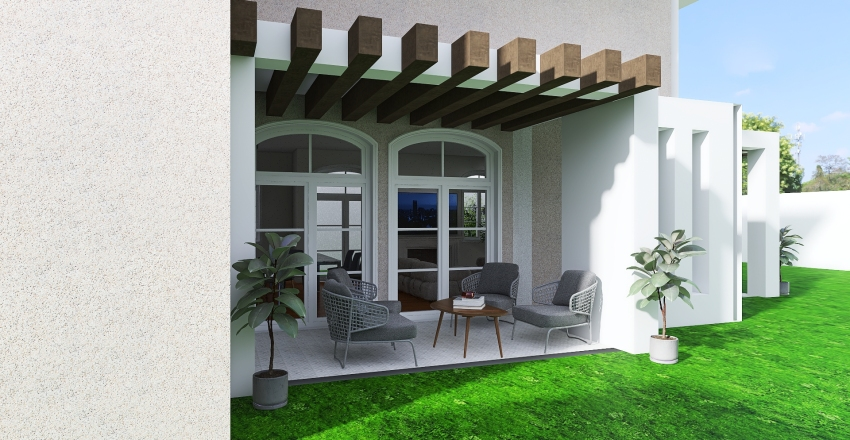 Artemis, double storey home Interior Design Render