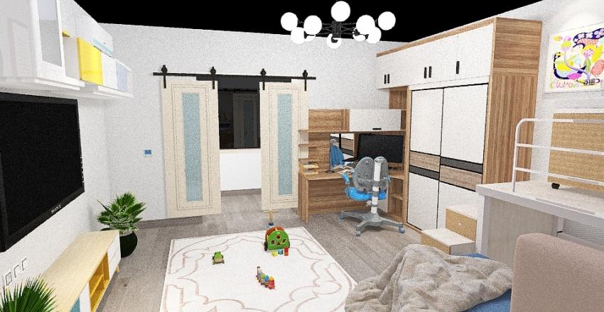 План квартиры №1 Interior Design Render