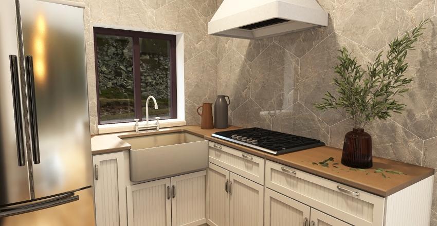 Small 5 x 5 House Interior Design Render
