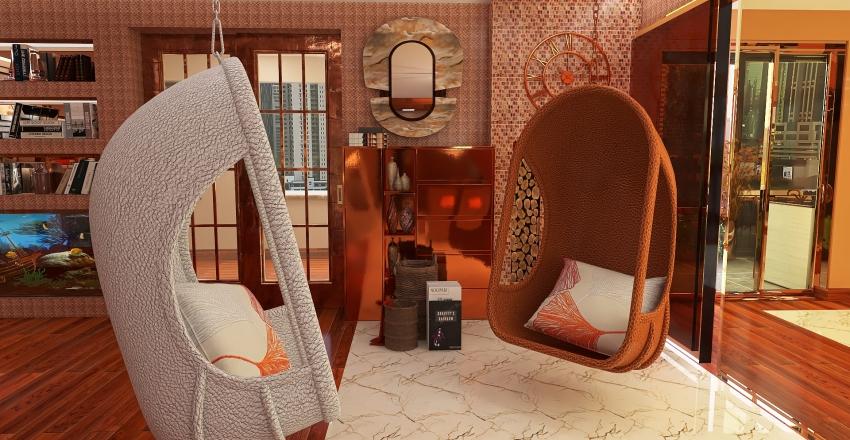 open space Interior Design Render