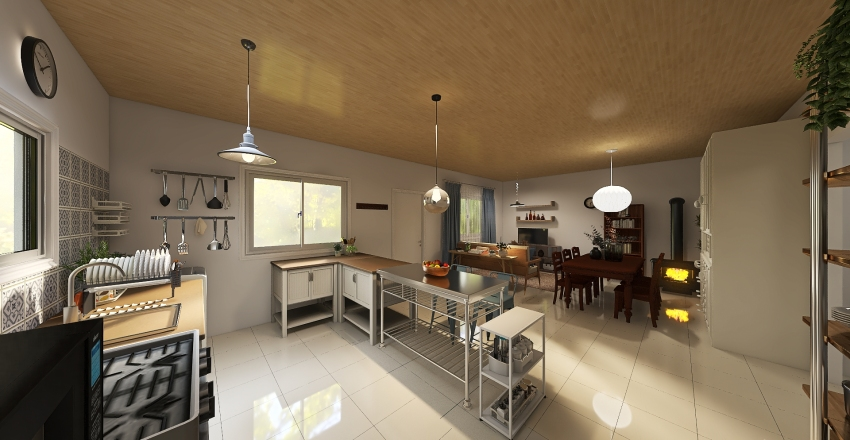 Sol & Diego Interior Design Render