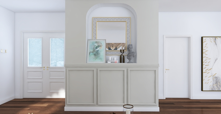 #HSDA2020Residential Small house.  Interior Design Render