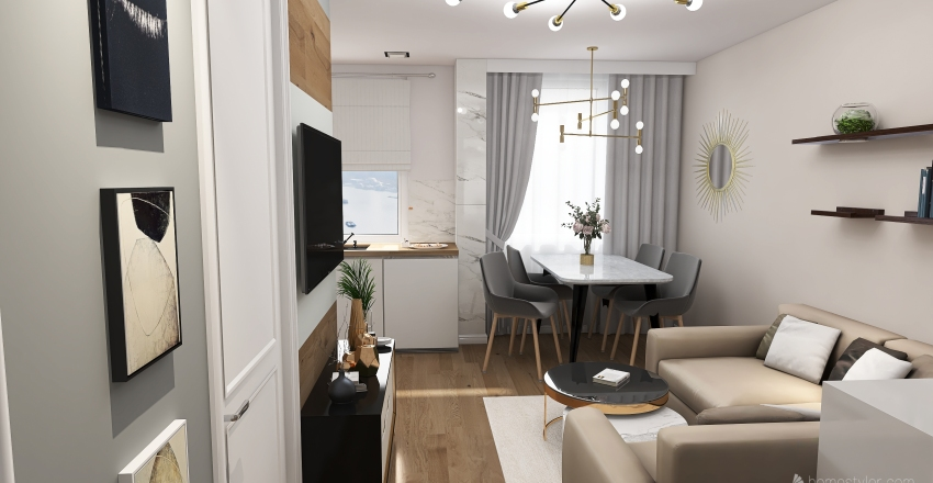 Joanna Interior Design Render