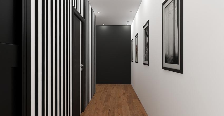 Bilocale Interior Design Render