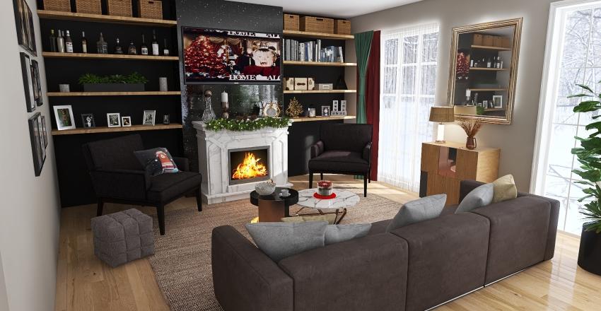 Christmas edition Interior Design Render