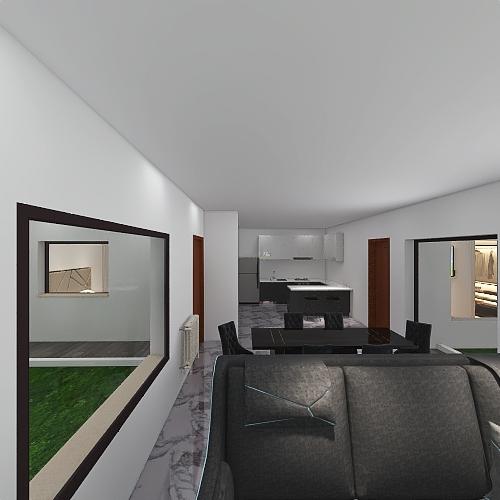 casita cand Interior Design Render