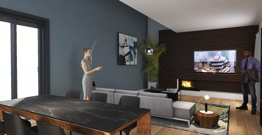 prova tv Interior Design Render