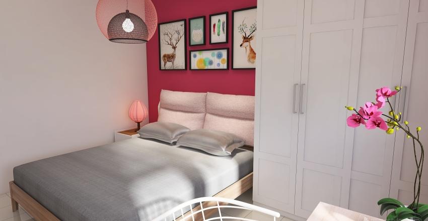 Hidden corner Interior Design Render