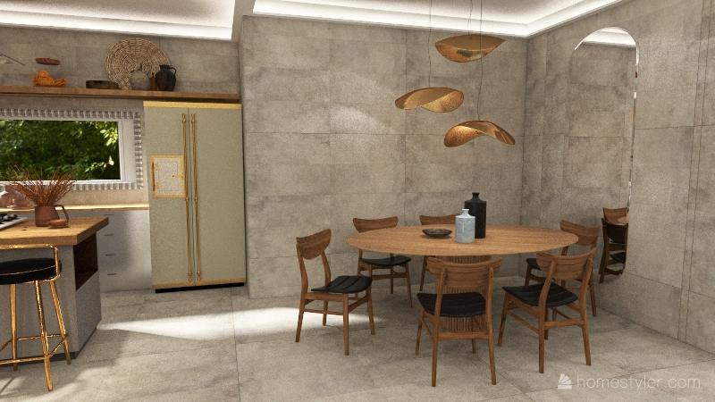 Natural Interior Design Render
