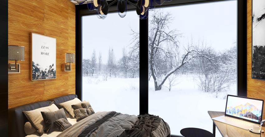 Helsinki Little Shack Interior Design Render