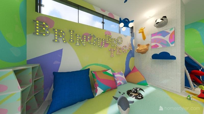 Brinquedoteca Manoel de Carvalho Interior Design Render