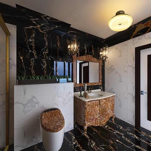 MR  Imran khan 1ST FLOOR SHADE BATH ROOM Interior Design Render