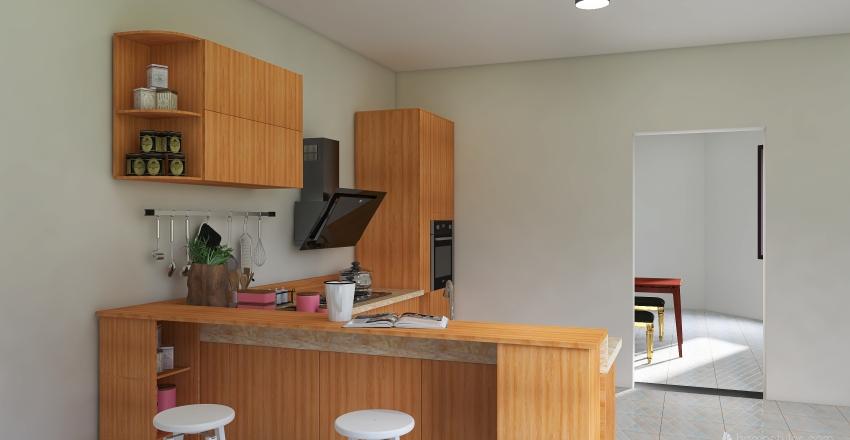 Modern Geometry Interior Design Render