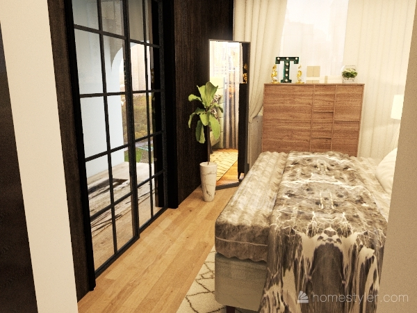 OldisvsModernbedrooms Interior Design Render